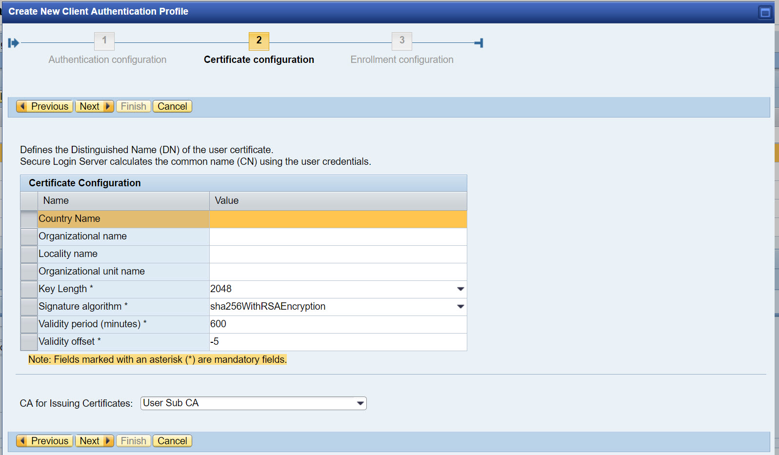 Configure Network Edge Authentication | SAP Blogs