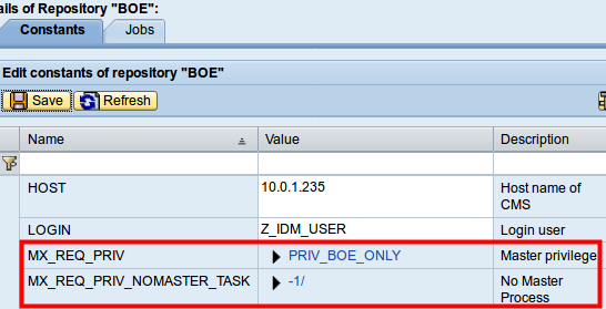 Installing the SAP BusinessObjects Connector on SAP IDM 8 0