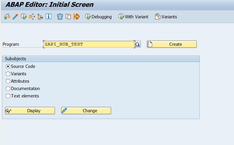 API Business Hub : ABAP code snippet for APIs | SAP Blogs
