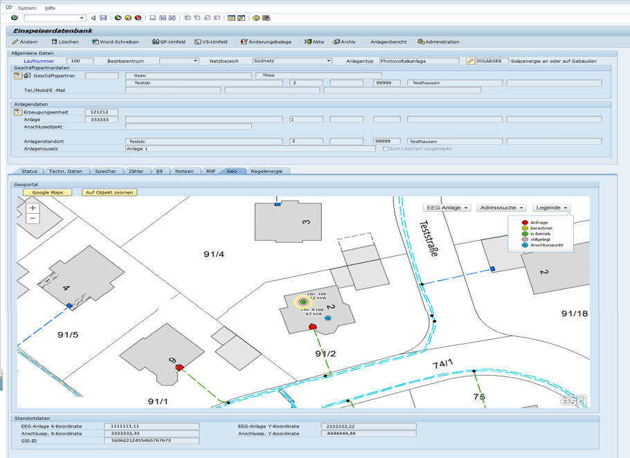 SAP ERP Integration with Geographical Information Systems (GIS
