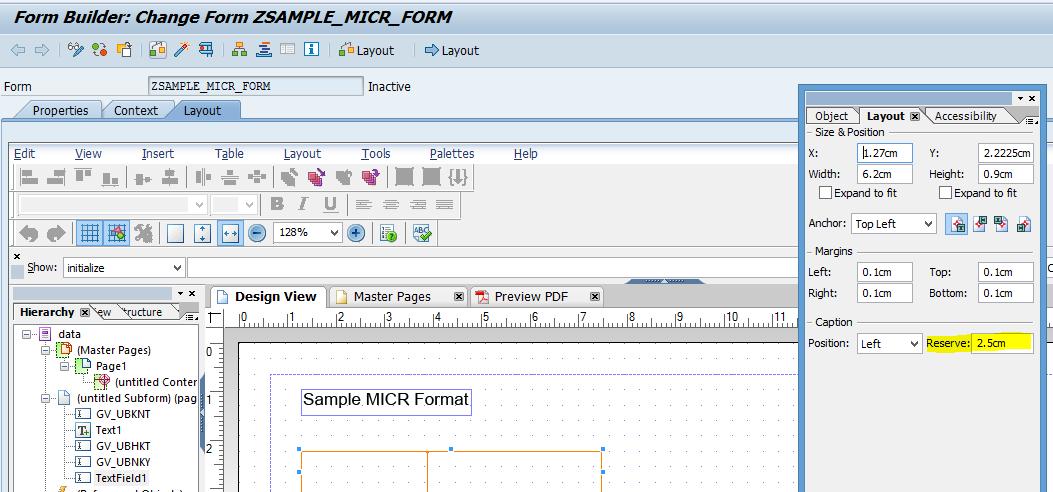 Using MICR font in SAP Adobe form | SAP Blogs