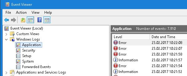 File in use on windows how to find the responsible for Window load event