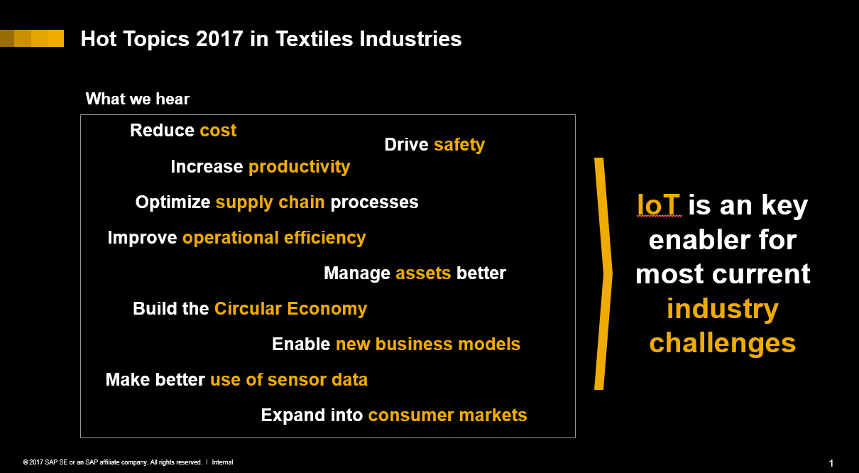 Sewing digital transformation into the fabric of the textiles i strongly believe that digital transformation and industry 40 needs very much an industry specific approach while some of the it enablers may apply malvernweather Image collections