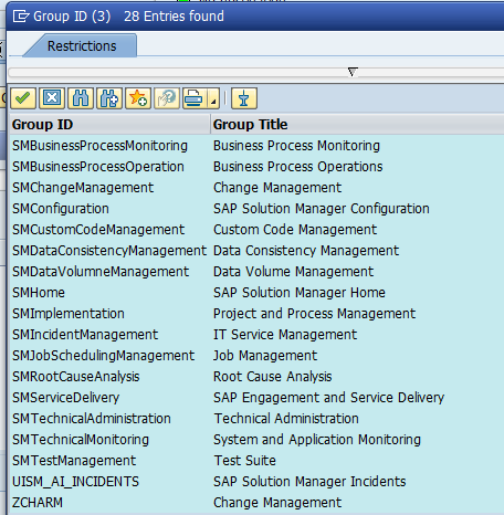 Create your own Fiori tile for customer business roles ITSM