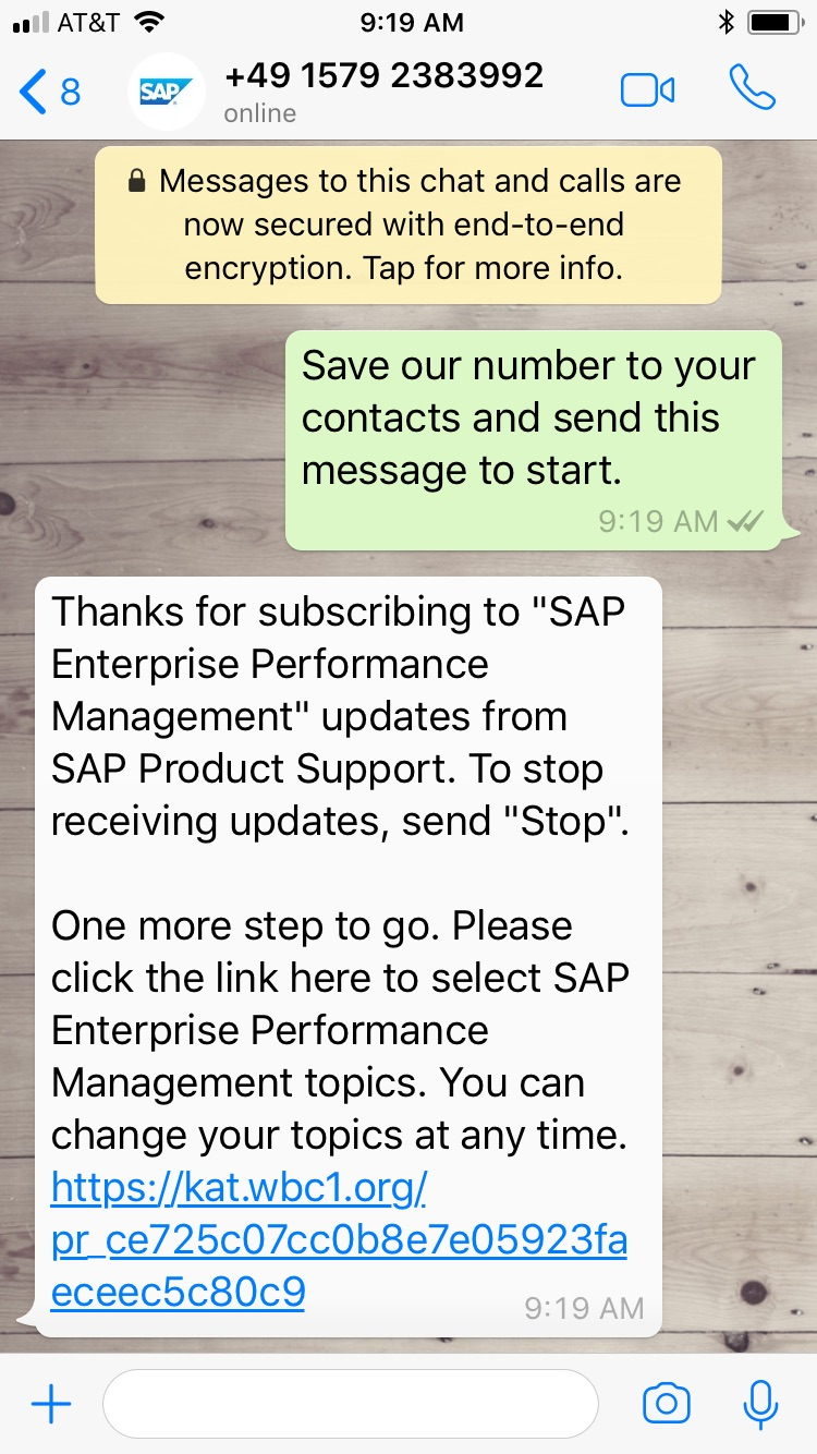 How to get #SAPNextGenSupport updates on your mobile device