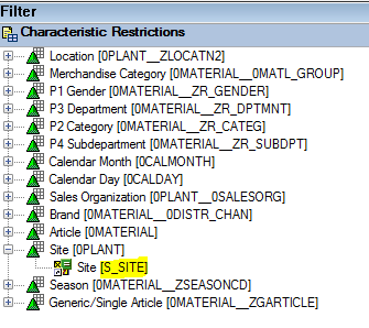Analysis for office variables and filters via vba sap blogs for example in the screenshot below instead of using 0plant to submit a value for site i need to use the selection variable ssite instead ibookread ePUb