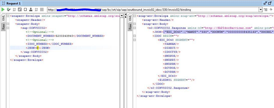 Outbound IDOC as web service – XML/JSON | SAP Blogs