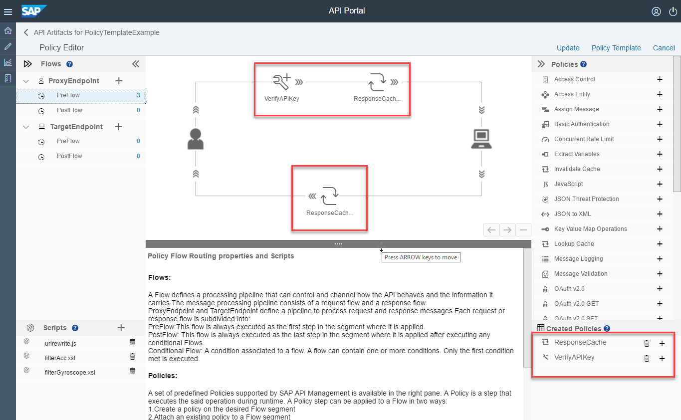 sap api management simplify your life with policy templates sap