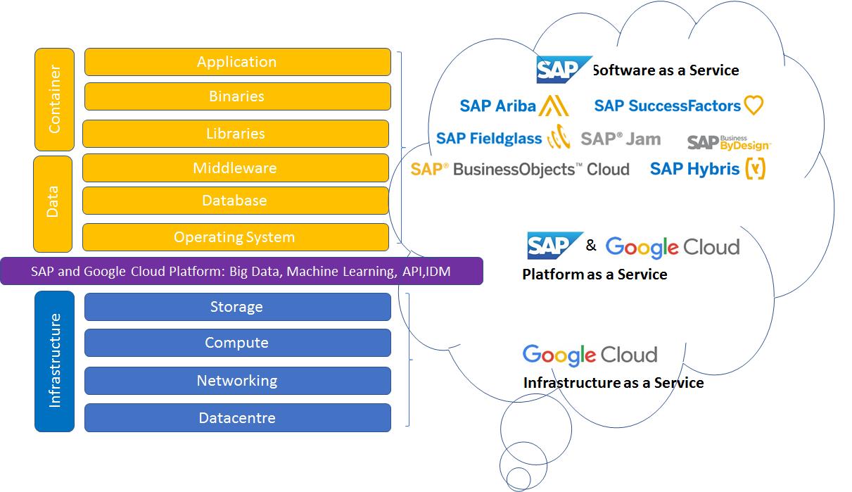 cloud foundry application vs service