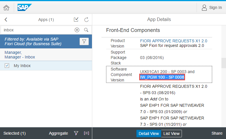 Connect SAP Fiori, cloud edition to your on-premise backend