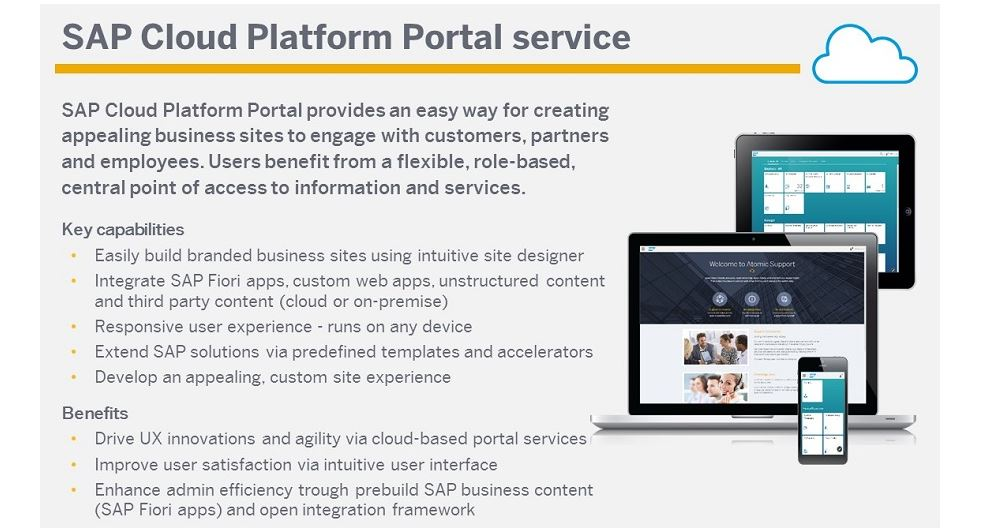 Upcoming Training Session on SAP Cloud Platform Portal   SAP