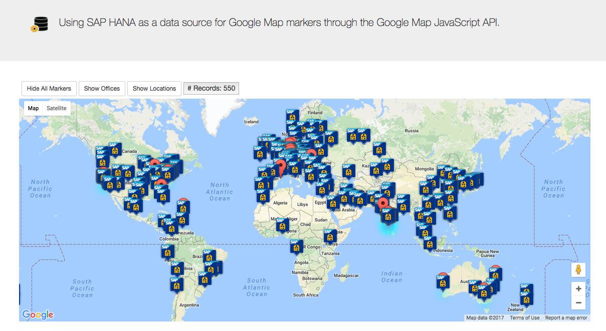 google offices world. In This Part I Decided To Mix It Up A Bit And Use An OData Service Submit My Current Geo Location The Server Add Collection For Google Offices World O