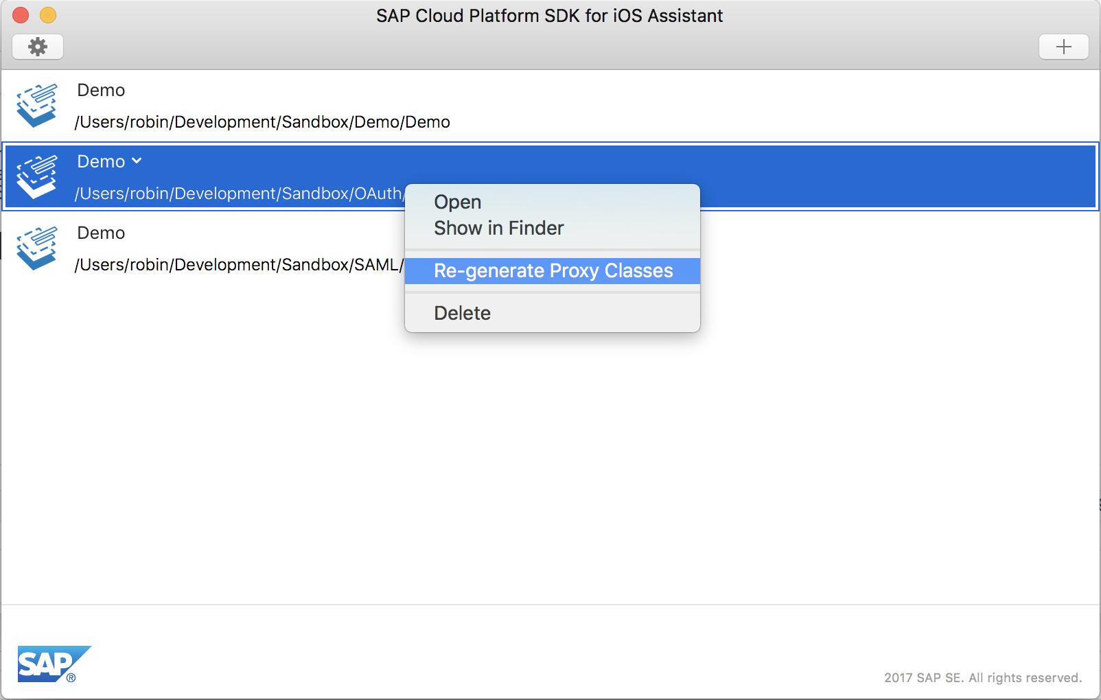 SAP Cloud Platform SDK for iOS – Did you know that… | SAP Blogs