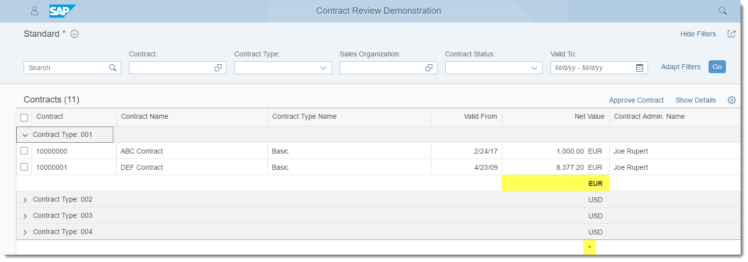 Annotating and Extending Fiori Element Applications: List