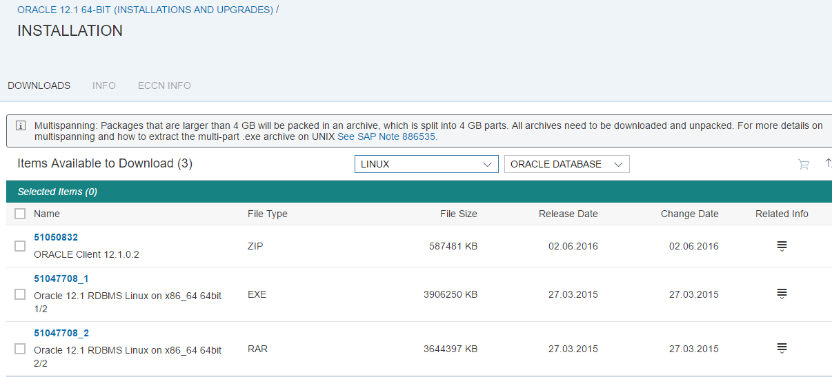 Upgrade Oracle Database from 11 to 12c | SAP Blogs