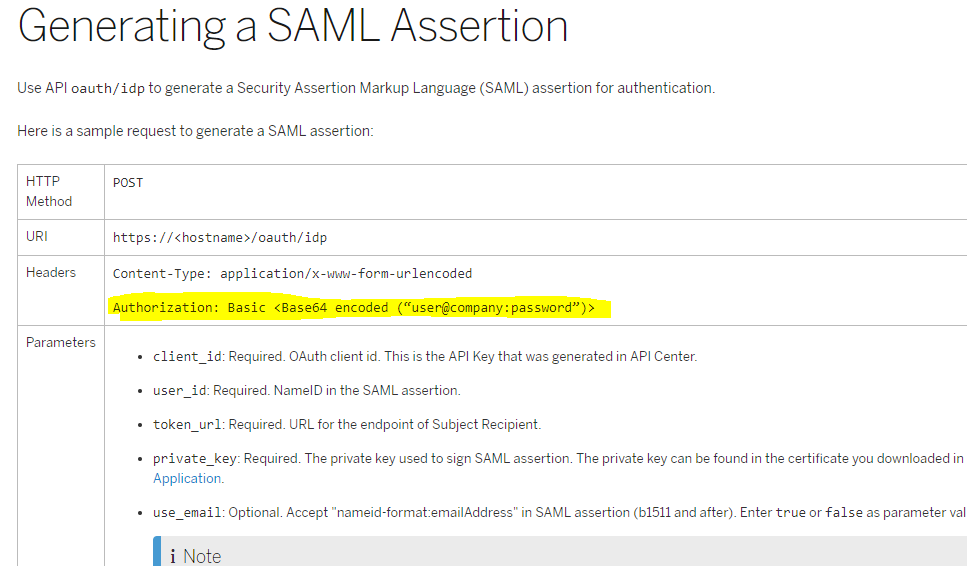 How to initiate an OAuth connection to SuccessFactors