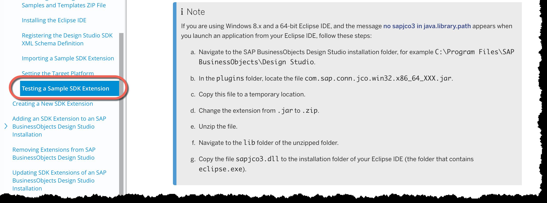 Design Studio 16 Execute the sample project – Sample Case File