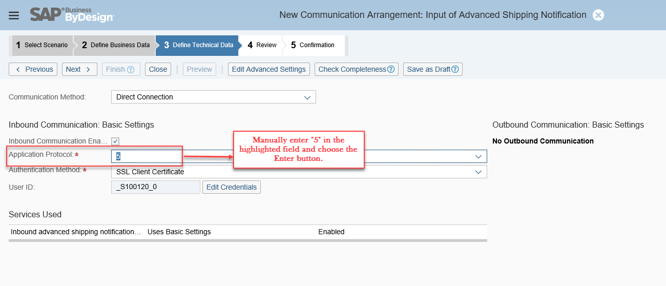 how to create outbound delivery in sap