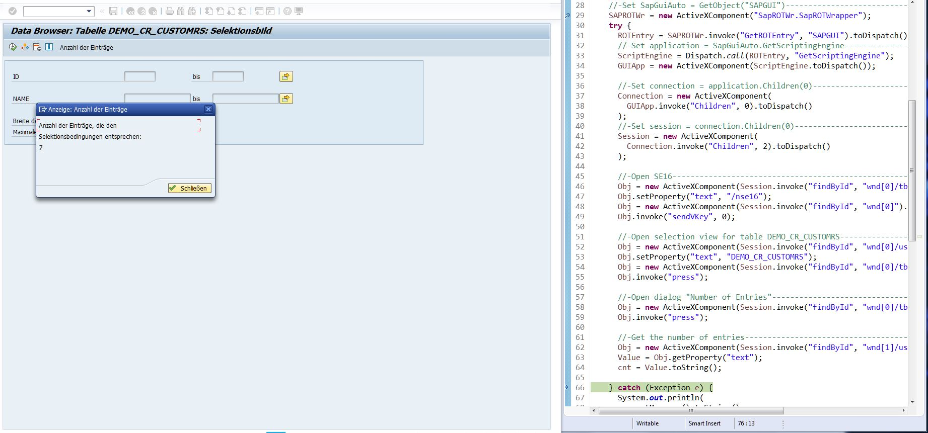 How To Combine SAP GUI Scripting And Selenium WebDriver | SAP Blogs