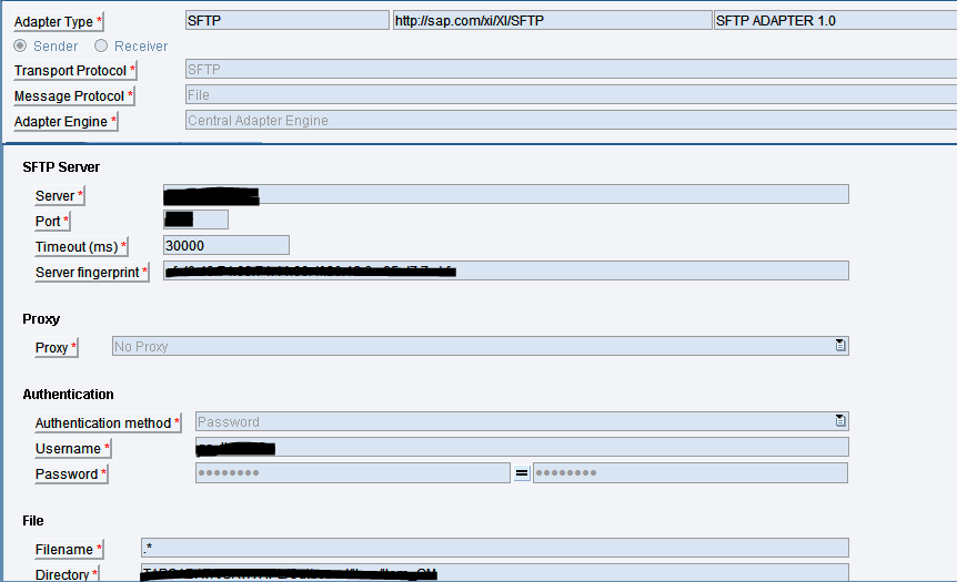 SFTP adapter with FCC and PGP encryption/decryption | SAP Blogs