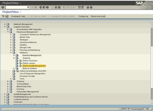 serial number management in sap wm
