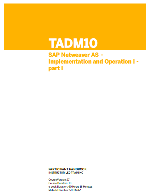 Tadm10 1 Ebook