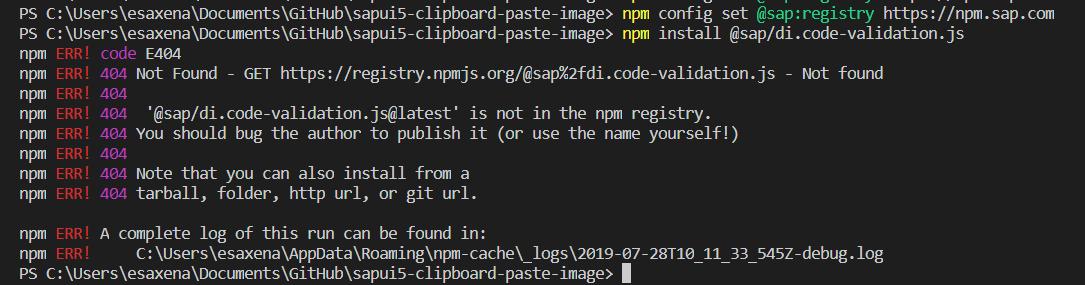 SAP NPM Registry launched: Making the lives of Node js developers