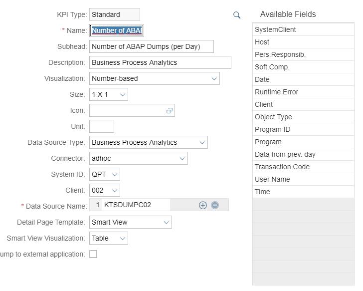 SAP Solution Manager 7.2 – Dashboard Builder configuration | SAP Blogs