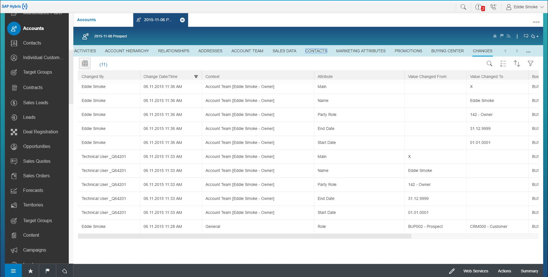 What's New in 1705 SAP Hybris Cloud for Customer – Fiori