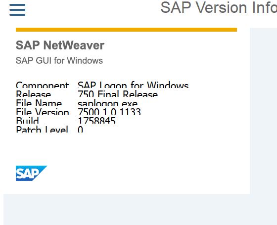 SAP GUI 7 5 – New UI for SAP Users | SAP Blogs