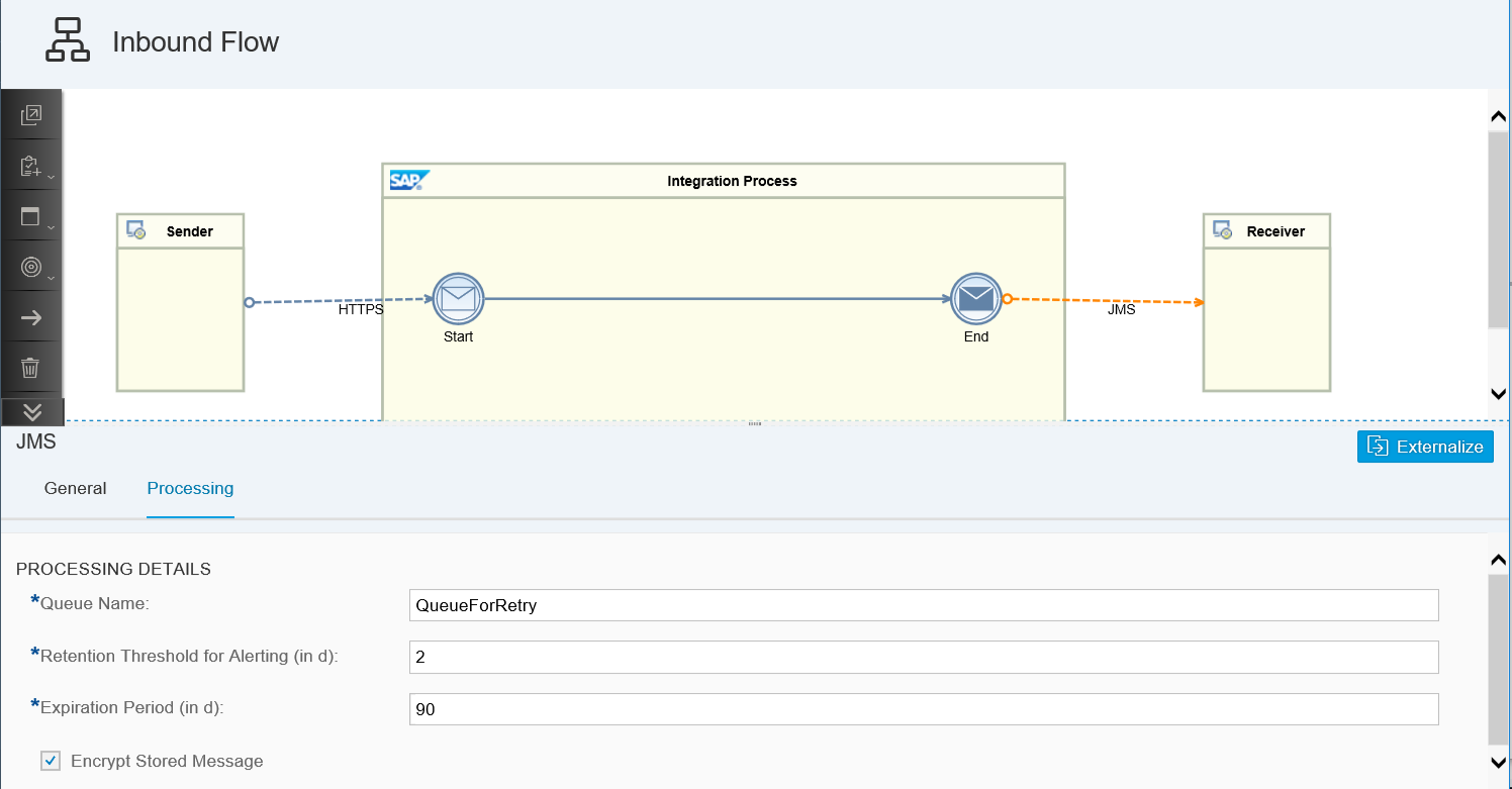 Cloud Integration – Configure Asynchronous Messaging with Retry