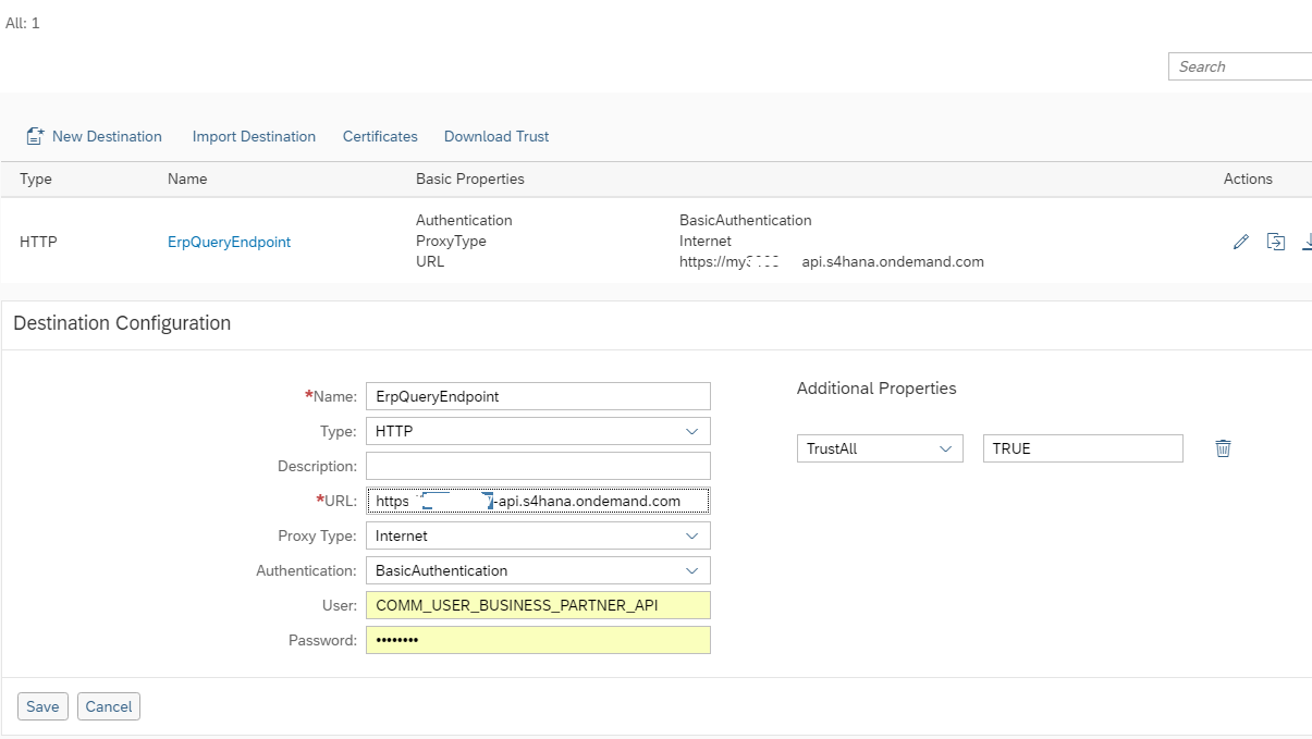 Step 4 with SAP Cloud SDK: Calling an OData Service with the