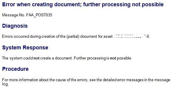 WBS Element Settlement (CJ88) Error Messages : AW624, AU133