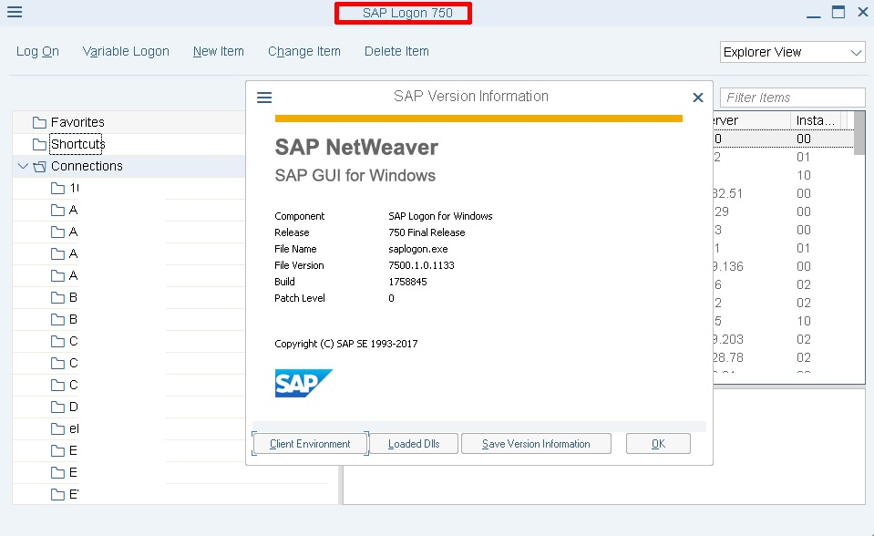 Sap gui for windows 7. 10 download.