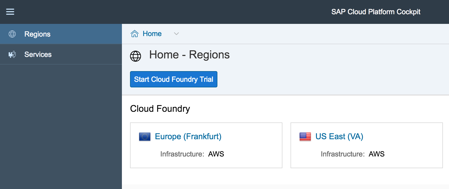 Step 3 with SAP Cloud SDK: HelloWorld on SCP CloudFoundry