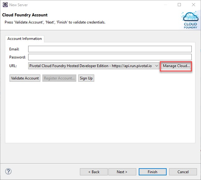 Deploying a Java application for Cloud Foundry on SAP
