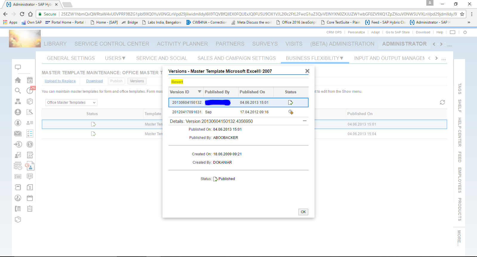 Office/Excel Integration for Hybris Cloud for Customers and