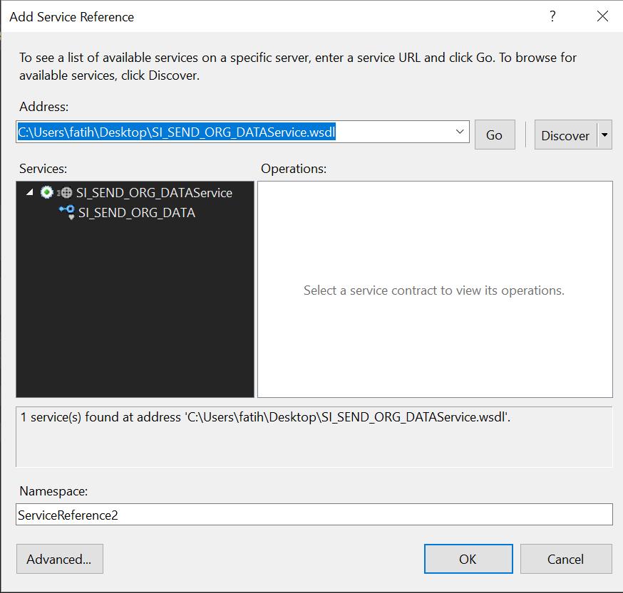 .Net C# SOAP Web Service Client Example For SAP PI/PO