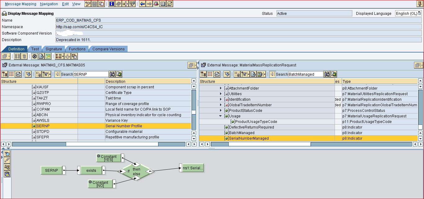 How to Show if the S/4HANA Material is Batch or Serial