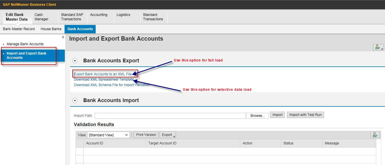how to maintain bank master in s4 hana finance nwbc and its import