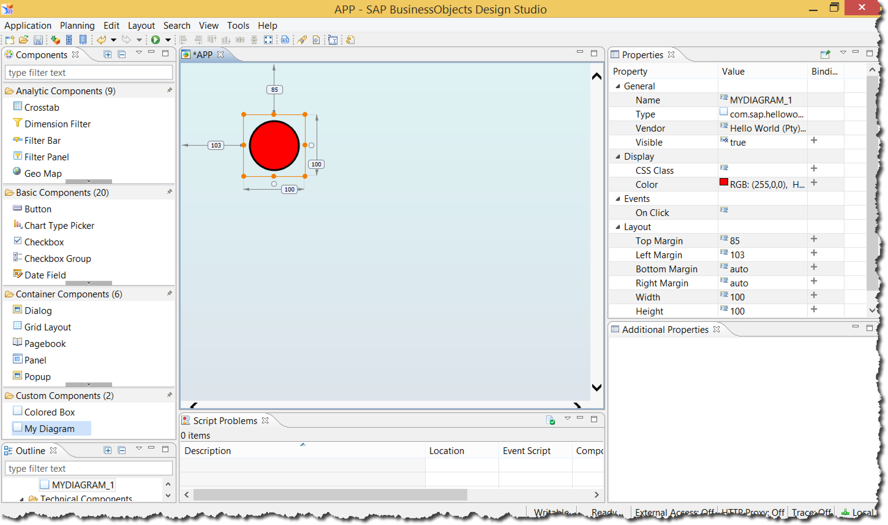 Design Studio 20.20 – Your first SDK extension, write your own ...