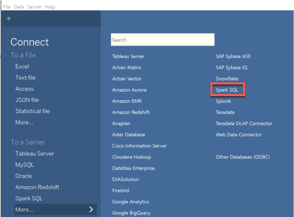 How to connect Tableau 10 4 to Vora 2 0   SAP Blogs