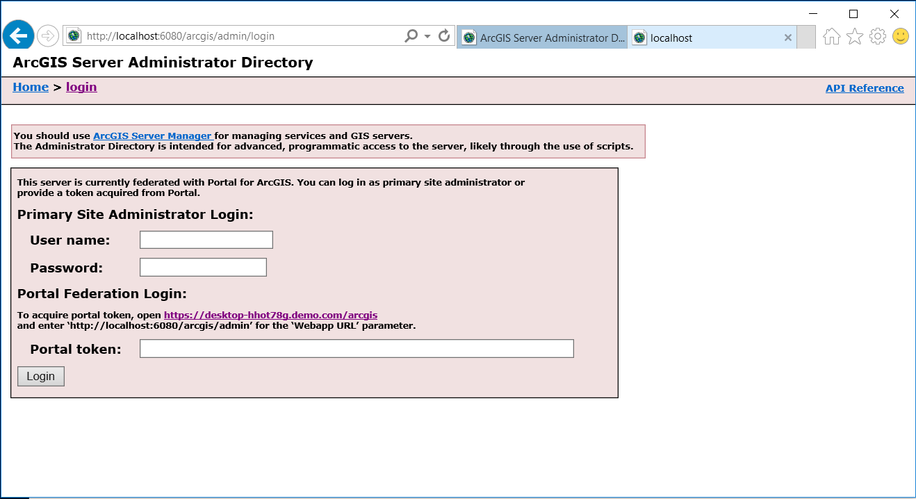 Connecting insights for arcgis to hana sap blogs once you enter the appropriate credentials or token and login the following webpage will appear xflitez Gallery