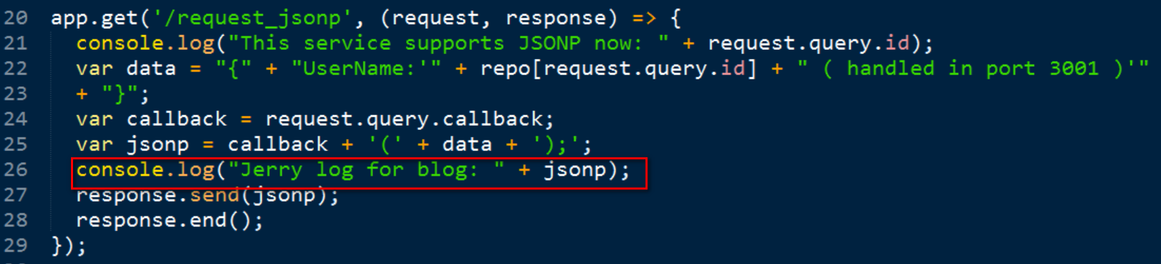 Play Around With Jsonp In Nodejs Server And Abap Server Sap Blogs