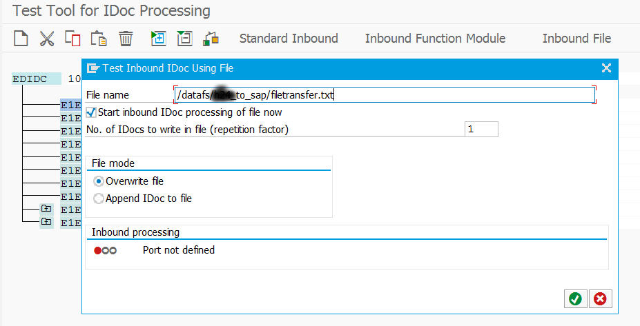 how to download idoc as xml file
