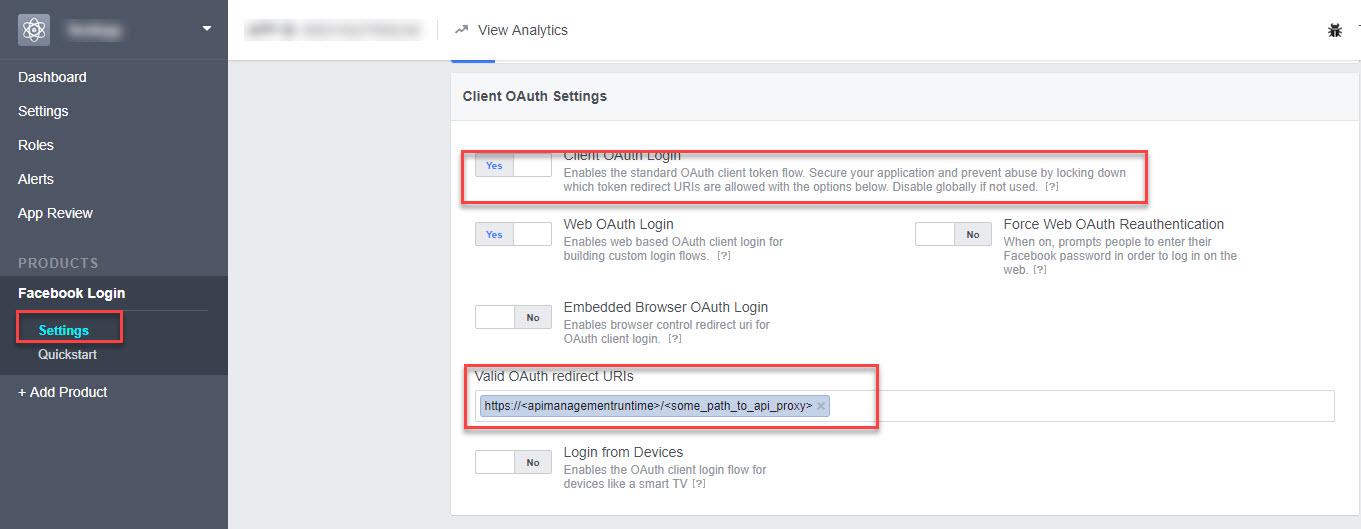 Implement Facebook login on SAP API Management (Part 1