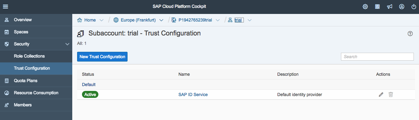 Step 7 with SAP Cloud SDK: Secure your Application on SAP Cloud