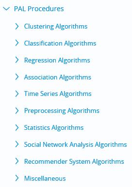 sap hana machine learning