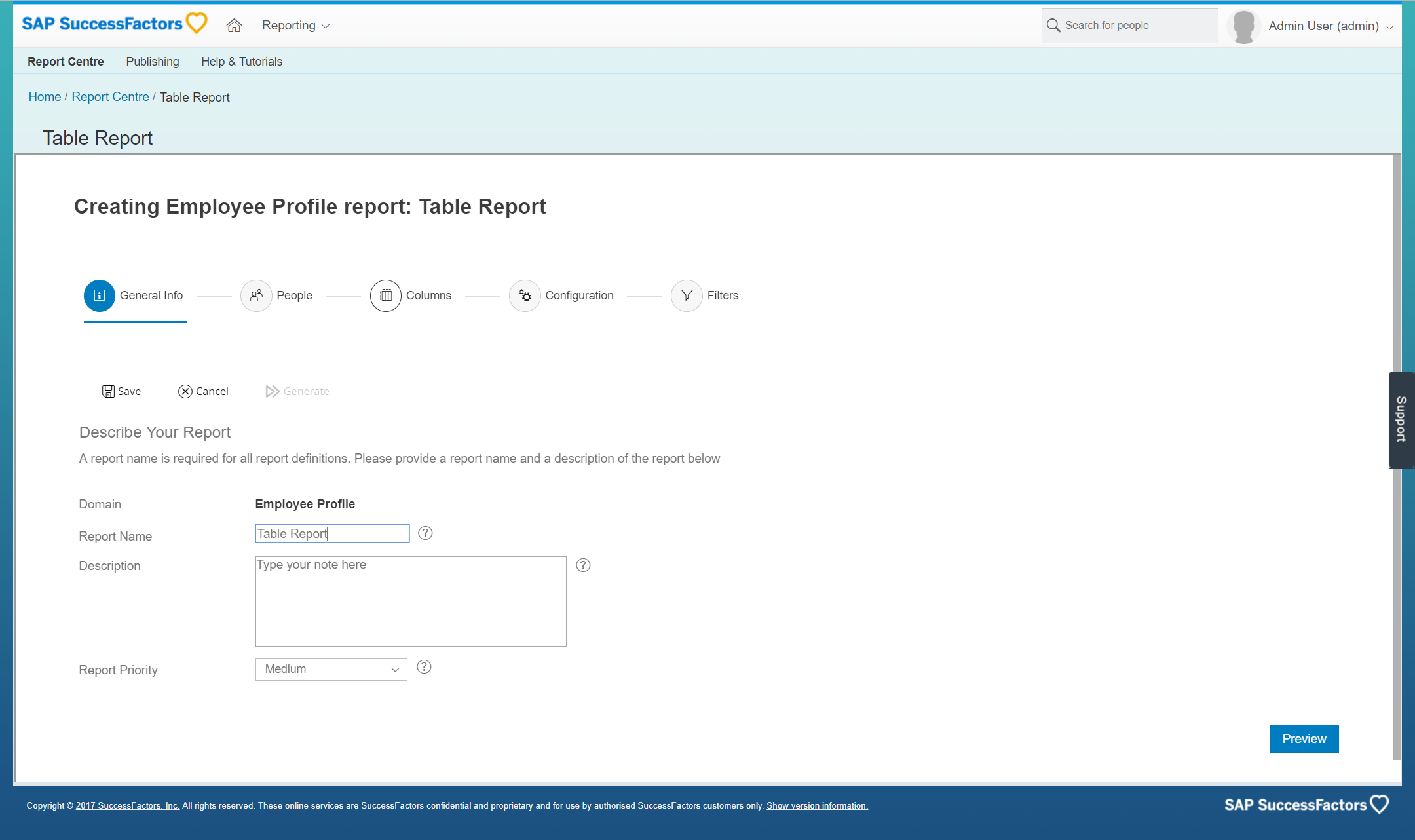Reporting and analytics in sap successfactors hcm suite lets report custom xflitez Gallery