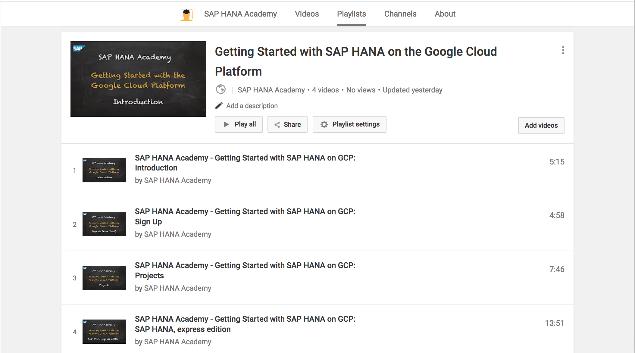 Initial Setup And Secure Configuration Gcp By The Sap Hana